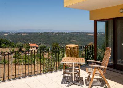 Quinta do Penedo, terraço com linda vista
