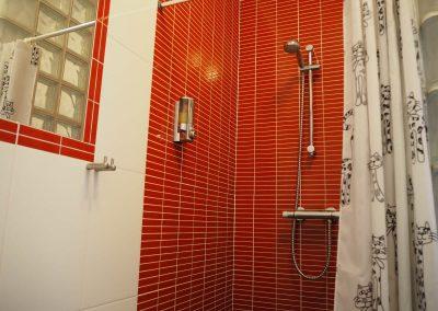 Quinta Vermelho, de douche in de badkamer