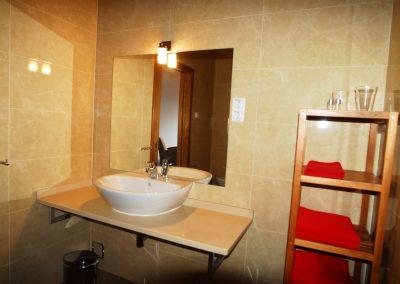 Quarto da Cerejeira, the bathroom