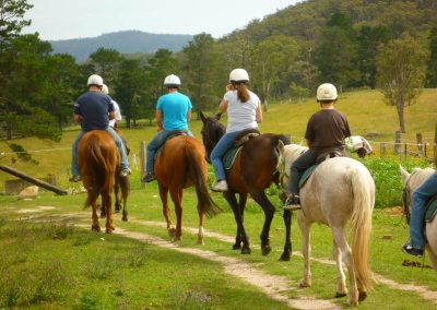Horse riding in central Portugal