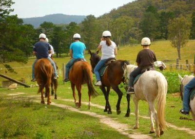 Paardrijden in midden Portugal