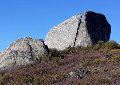 Rotsen in de Serra de Estrela