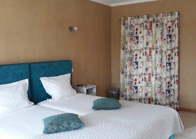 Quarto Azul, the bedroom