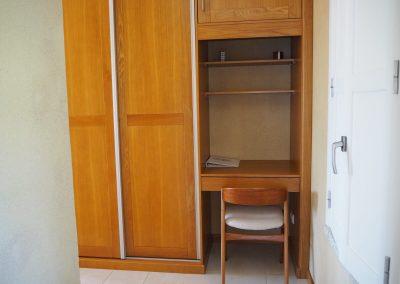Quarto Azul, with ample closet space