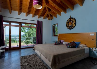 Quarto da agua bedroom with view