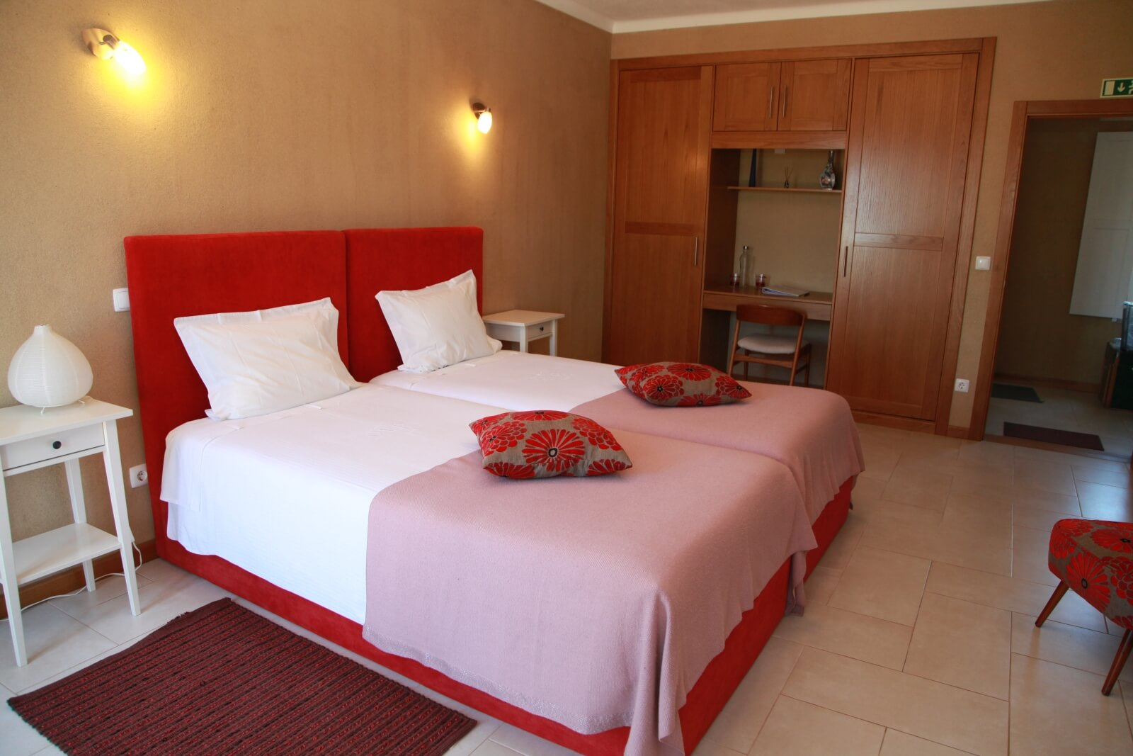 Quarto Vermelho de slaapkamer