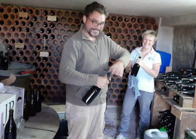De wijnkelder van Quinta Vale Porcacho