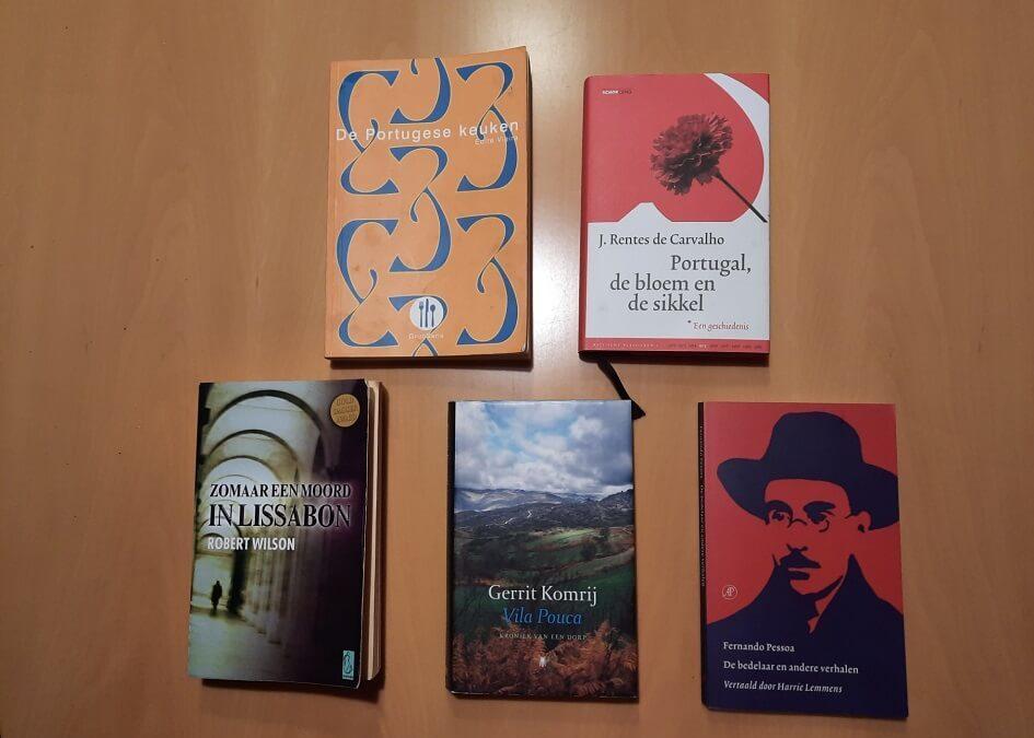 Met 5 boeken op ontdekkingsreis door Portugal